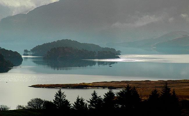Лох-Морар в Шотландии