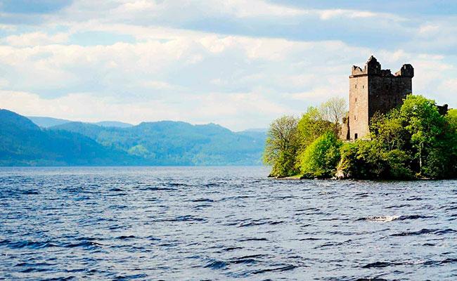 Лох-Несс в Шотландии